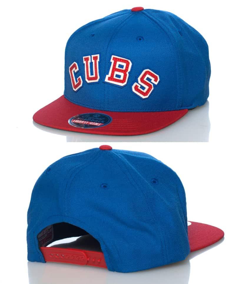 1e21f1757bcda1 AMERICAN NEEDLE CHICAGO CUBS MLB SNAPBACK CAP (Blue) - 40947CC ...