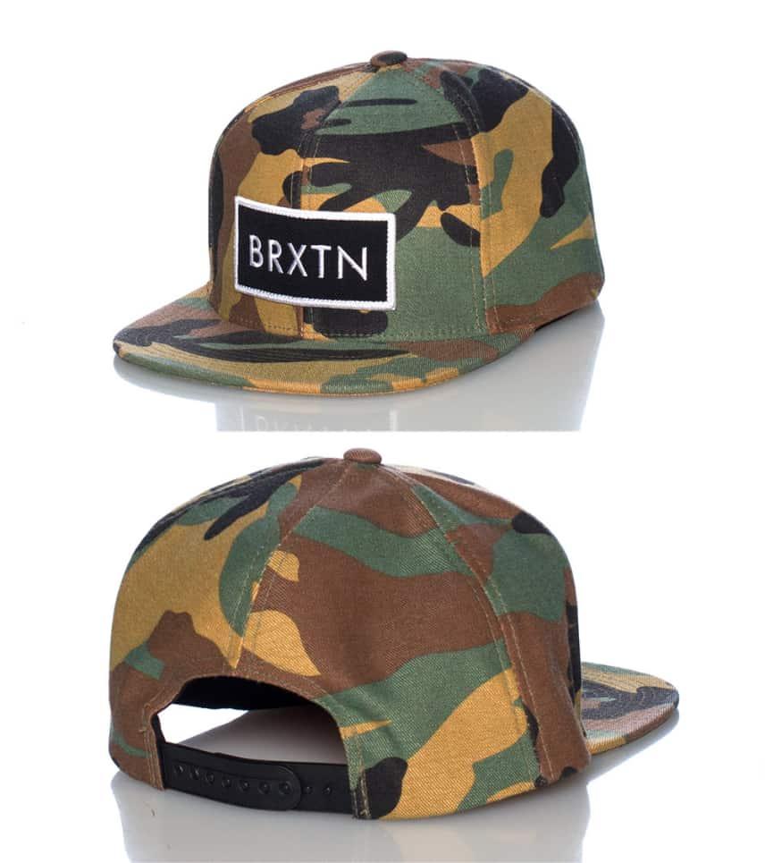 2ba2334d465 Brixton Camo Rift Snapback Cap (Multi-color) - 41300034