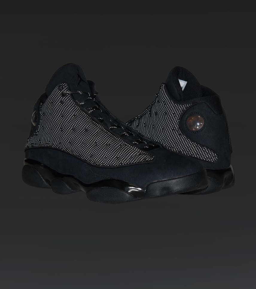 cd4a908e99ef Jordan RETRO 13 SNEAKER (Black) - 414571-011