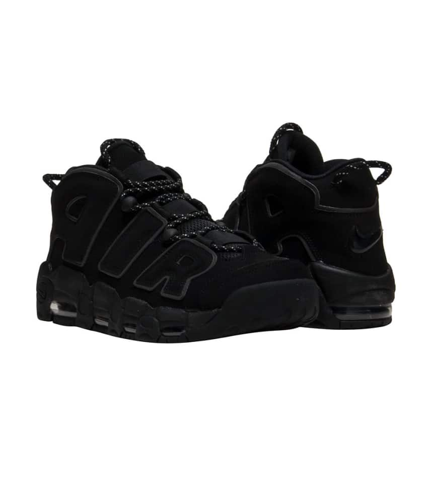 08df73d1907 Nike AIR MORE UPTEMPO SNEAKER (Black) - 414962-004