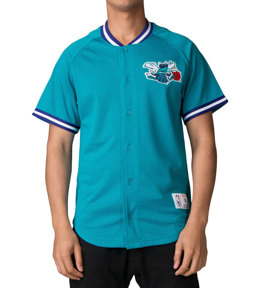 cheap for discount c1836 c536c Charlotte Hornets Button Jersey