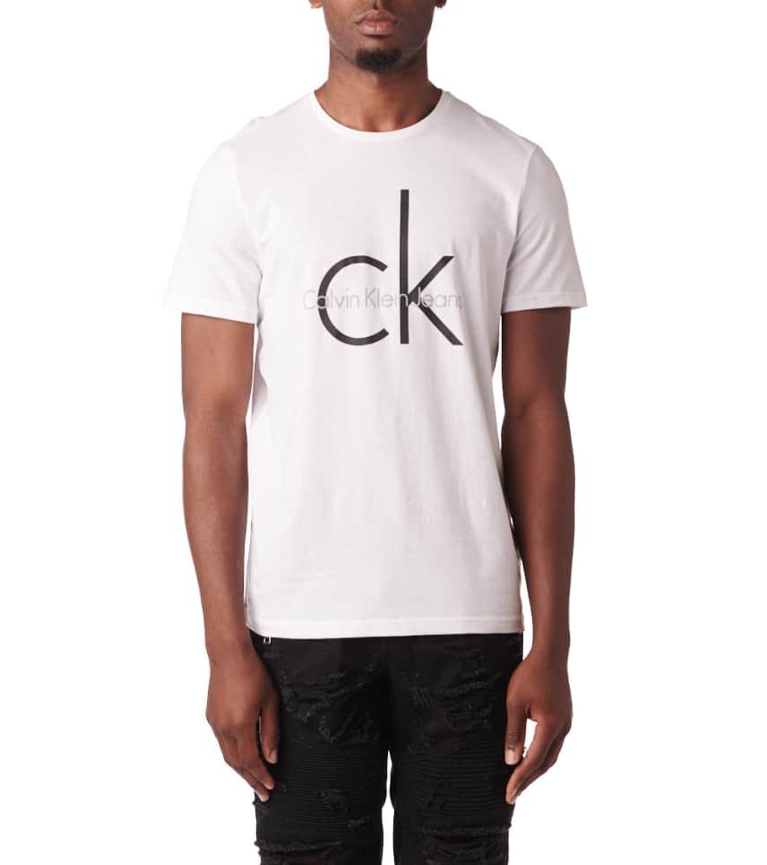 91aa4a07a Calvin Klein Classic CK Logo Crew Neck SS Tee (White) - 41AK945-100 ...