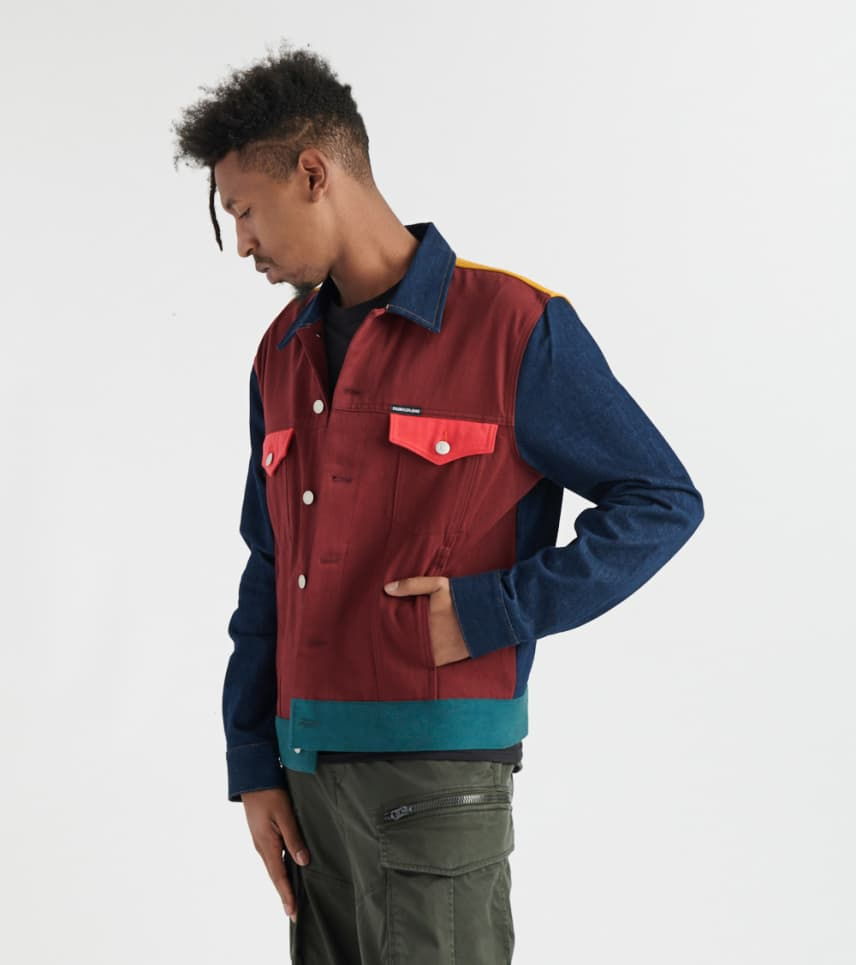 9fbaac6e8 Calvin Klein Ukelely Patch Denim Jacket (Multi-color) - 41J5232-849 ...