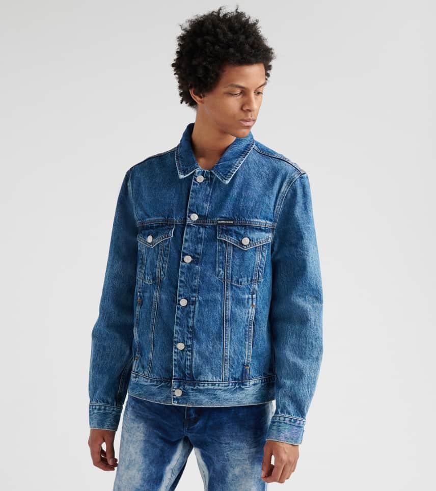 4ea0fc614c Calvin Klein Embro Mountain Trucker Jacket (Blue) - 41L5522-MST ...