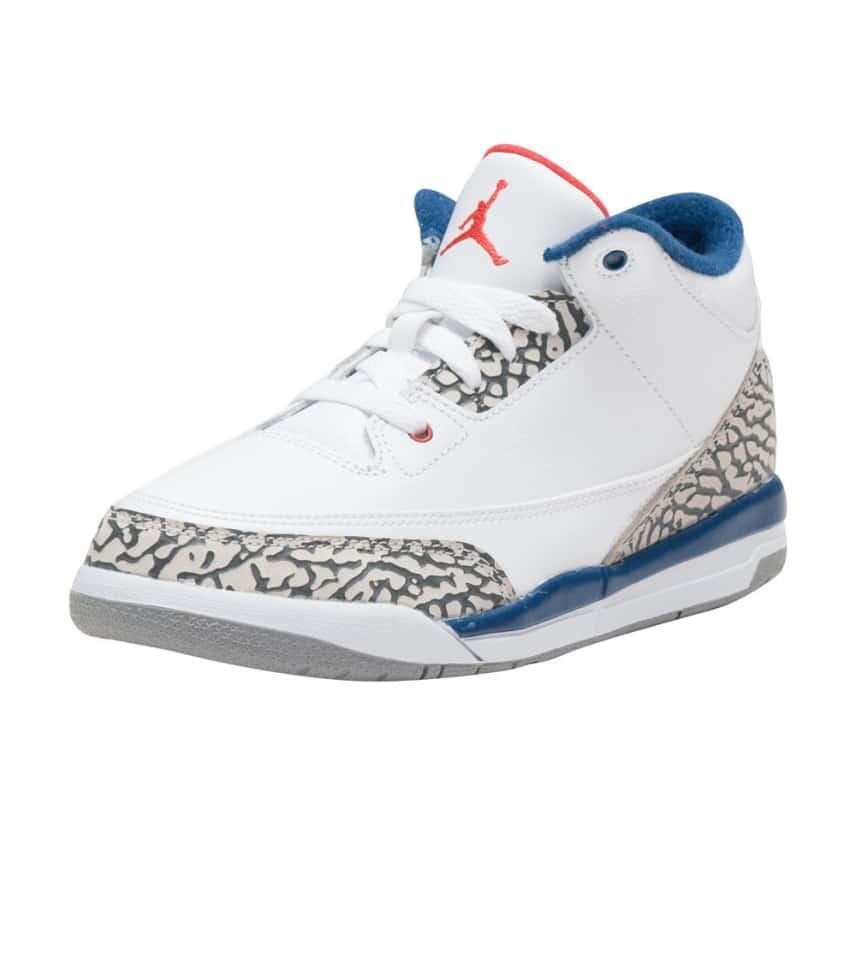 5a31bb41d43219 Jordan RETRO 3 SNEAKER (White) - 429487-106