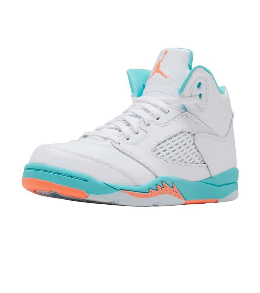 best service 49bc0 3cff7 Jordan BOYS Retro 5 GP Sneaker White. Jordan - Casual - Retro 5 GP Sneaker  Jordan - Casual - Retro 5 GP Sneaker ...