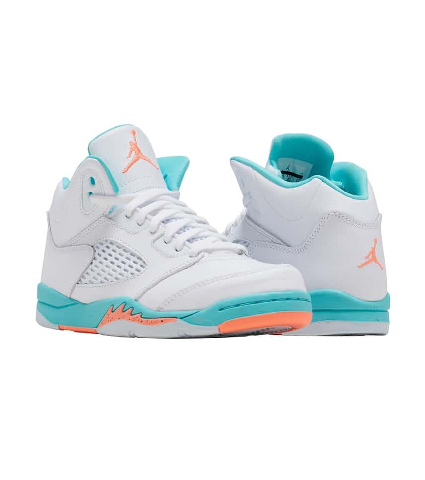 76d09f65886d7a Jordan Retro 5 GP Sneaker (White) - 440893-100