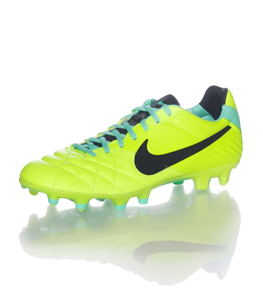 Nike Tiempo Legend IV Fg Cleats (Yellow) - 454316703  c203d0114