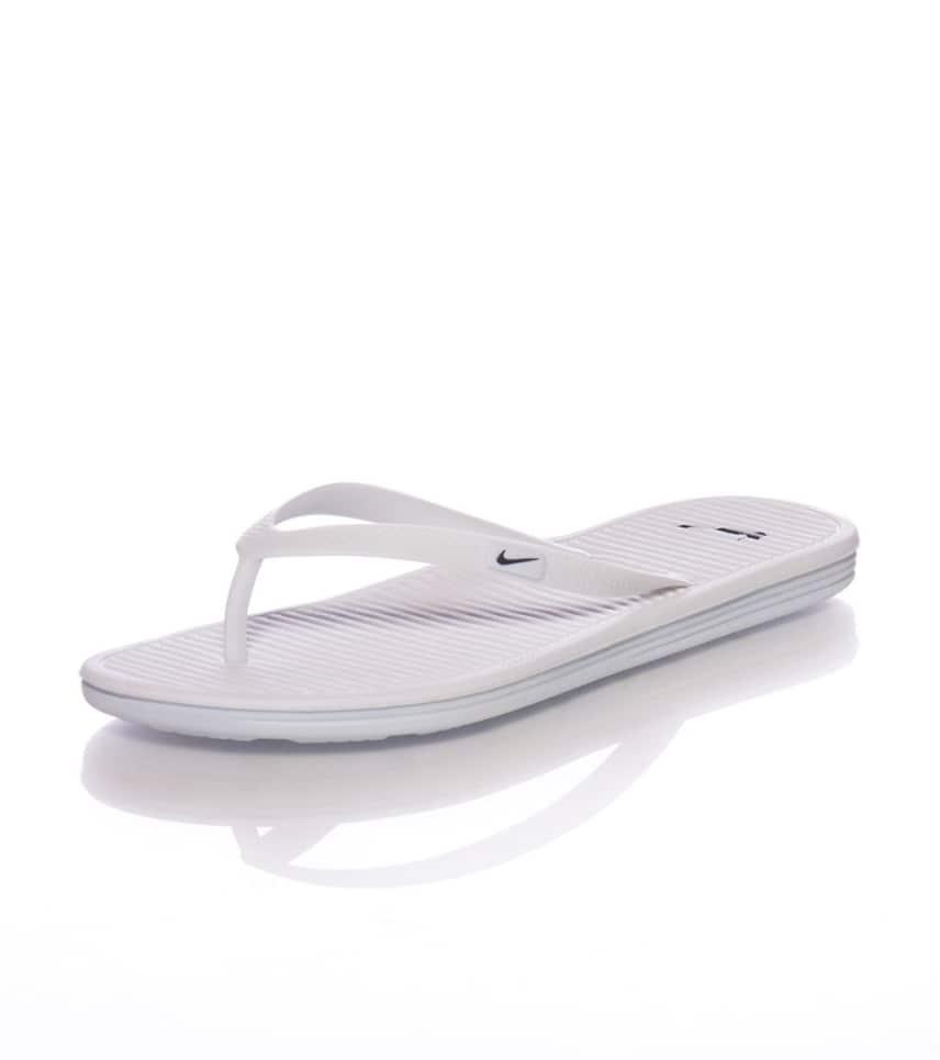 Nike SOLARSOFT THONG II SANDAL (White) - 488161102  2c7a87391