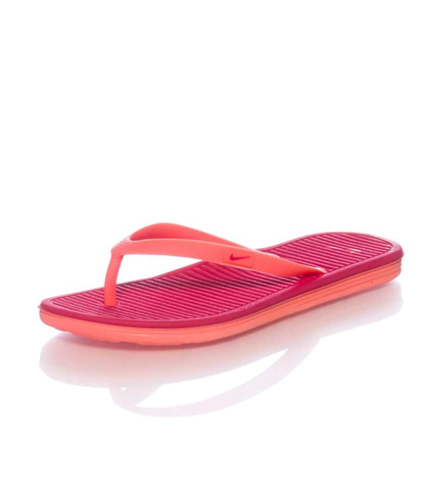Nike SOLARSOFT THONG II SANDAL (Medium Red) - 488161605  07fe300ae