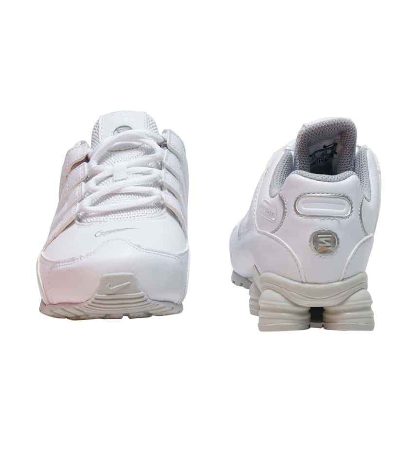 85ee6c5a30b Nike SHOX NZ SMS SNEAKER (White) - 488309-106