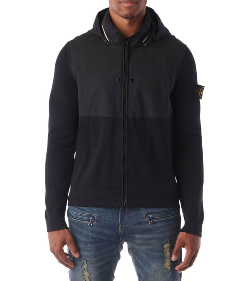 aced0b42eb0 Stone Island Pure Cotton ZIp Jacket (Navy) - 504B9-V0020