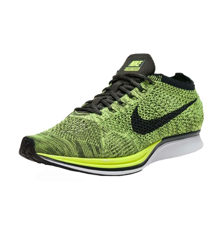 998dfdf85909 Nike FLYKNIT RACER SNEAKER (Green) - 526628-731