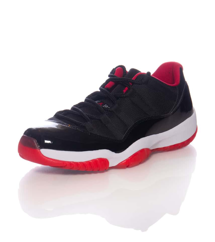 808dc55416cf72 Jordan RETRO 11 LOW SNEAKER (Black) - 528895012