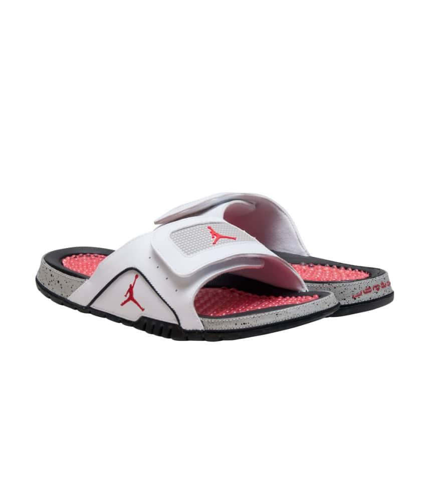 3955bba6c563b5 Jordan HYDRO IV RETRO SANDAL (White) - 532225-104