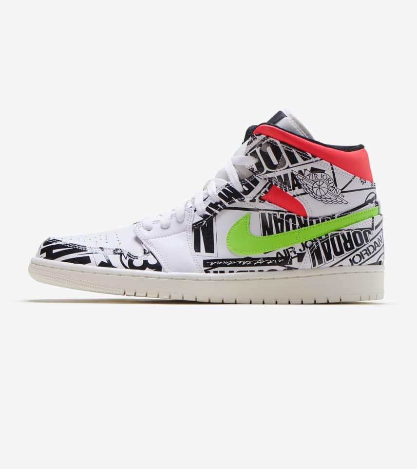 ea2118c802f4b0 Jordan 1 Mid Shoe (Multi) - 554724-119