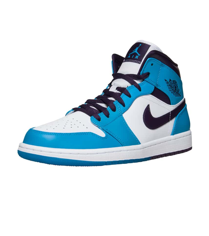 79f0b9c0ced9f4 Jordan 1 Mid Sneaker (Blue) - 554724-415