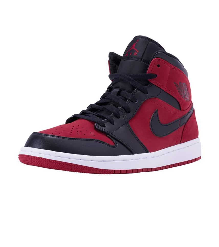 Jordan 1 Mid Sneaker (Dark Red) - 554724-610  e6b6d876bdac