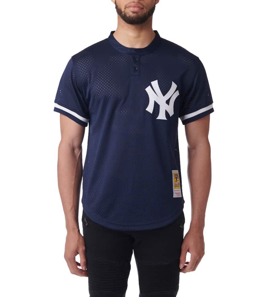 44cd9a9b0 Mitchell and Ness NY Yankees Mariano Rivera BP Jersey (Navy ...