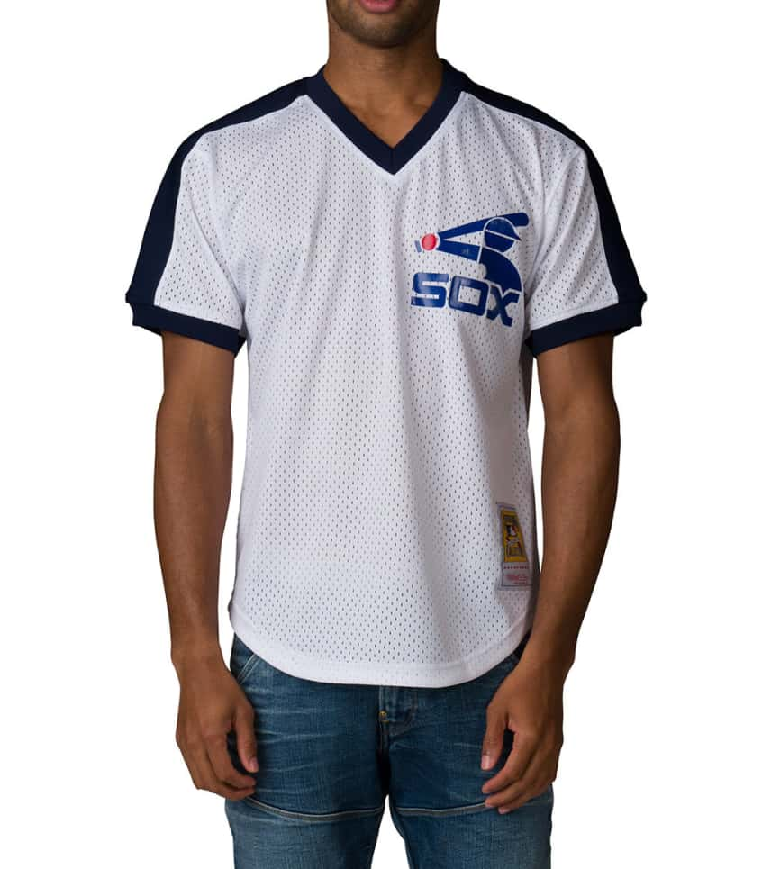 Mitchell and Ness Chicago White Sox Jersey (White) - 56214BA81CFI ... 7cd8e61a0