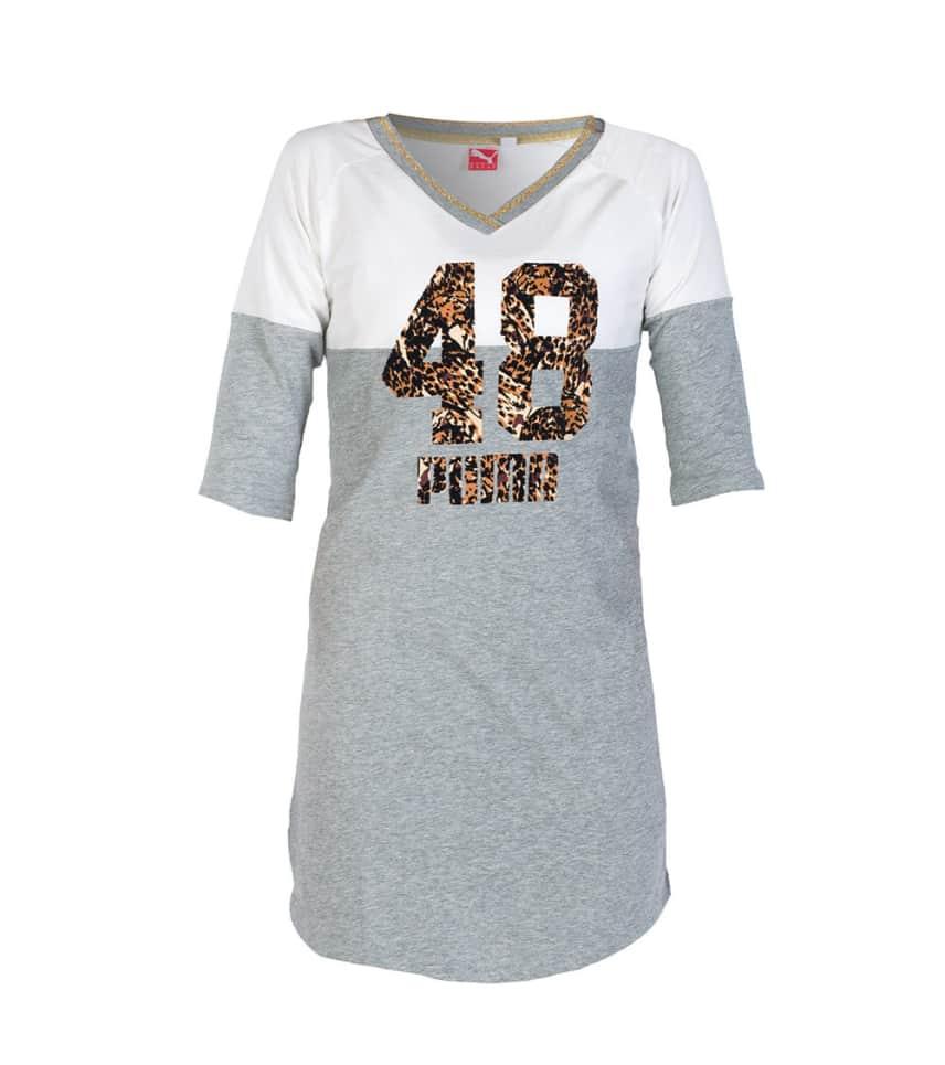 a8fc91217fea Puma STATEMENT SHIRT DRESS (Grey) - 56726344