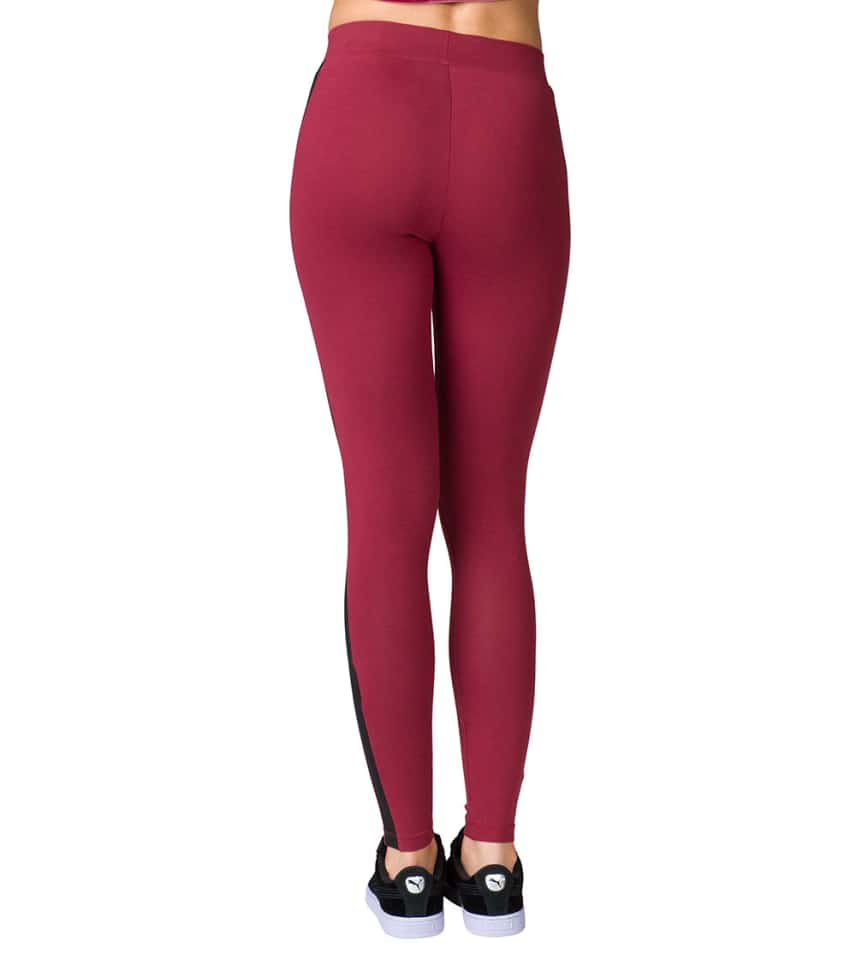 8c0d5215b2482 Puma ARCHIVE LOGO T7 LEGGING (Burgundy) - 57357762-600 | Jimmy Jazz