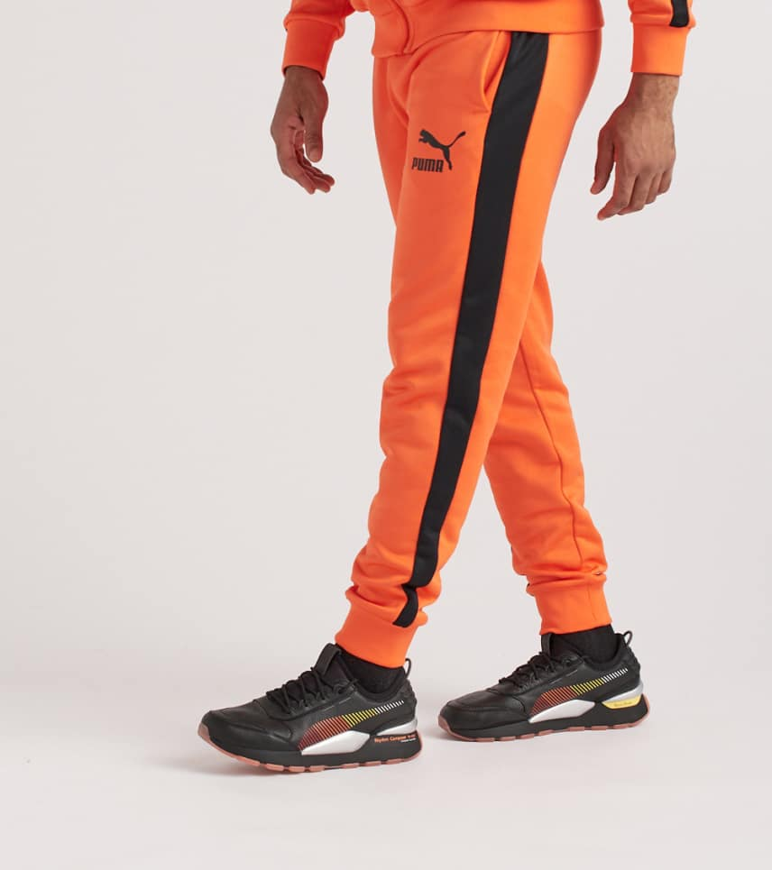 b7b20b8a0fc74 Puma Classics T7 Track Pants (Orange) - 57631729-800