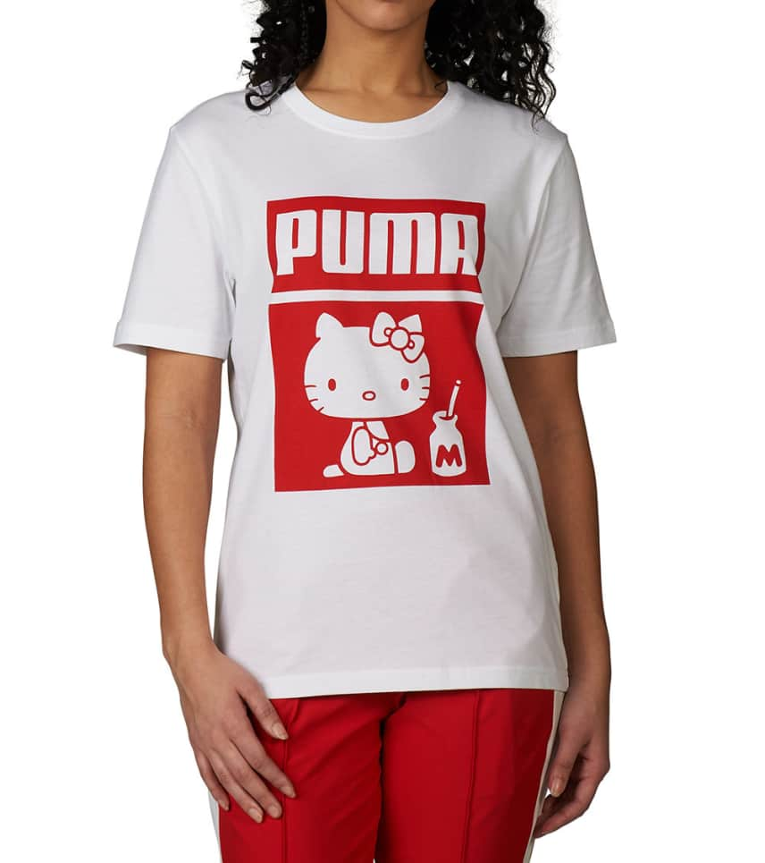 54ca4c47499 Puma PUMA X HELLO KITTY TEE (White) - 57673002-100 | Jimmy Jazz