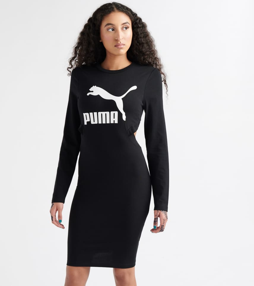 d23b9d8a8c44 Puma Classics Logo Tight Dress (Black) - 57805701-001