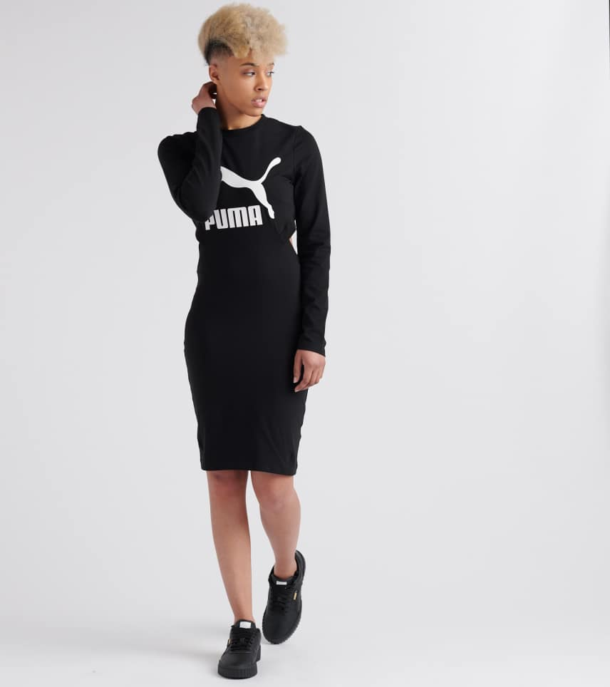 86d2fb730 Puma Classics Logo Tight Dress (Black) - 57805701-001 | Jimmy Jazz