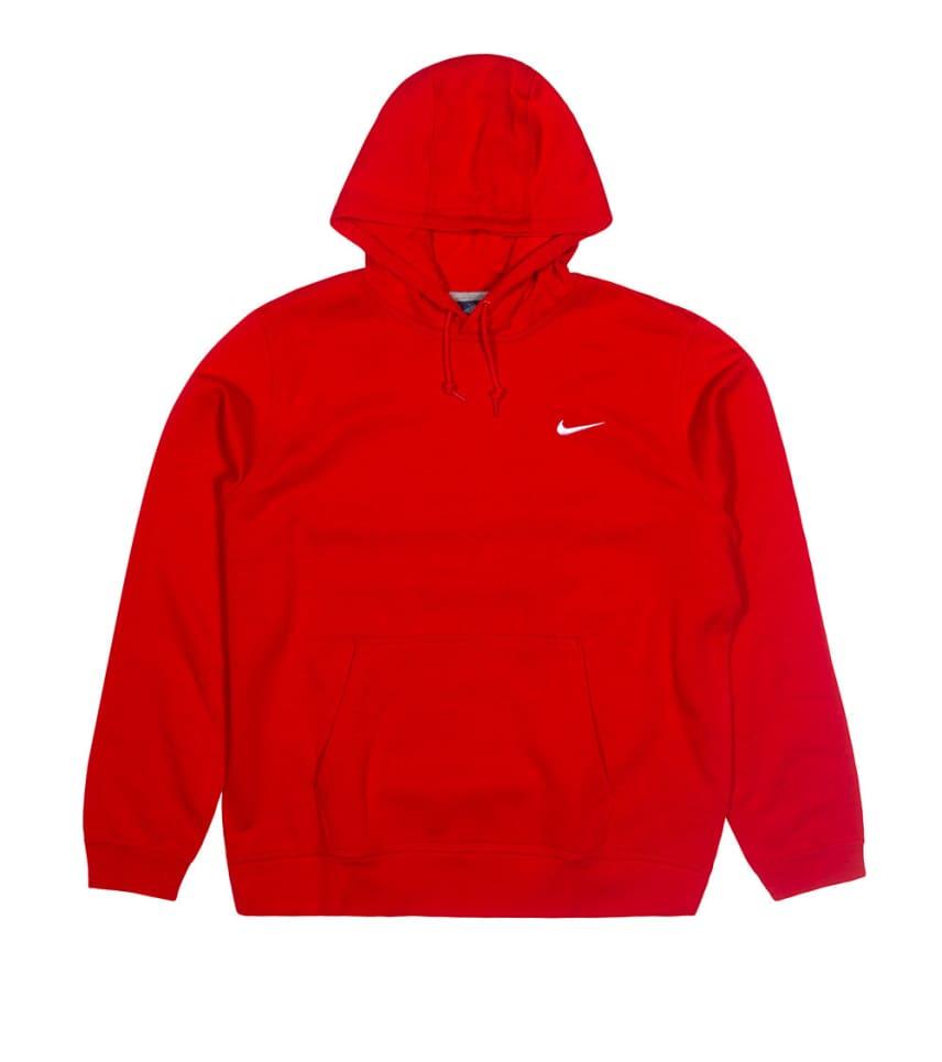86880478d Nike NIKE CLUB SWOOSH PULLOVER HOODIE (Red) - 611457611 | Jimmy Jazz