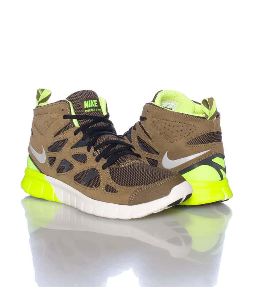 1ddbe823de16c Nike FREE RUN 2 SNEAKERBOOT (Green) - 616744700