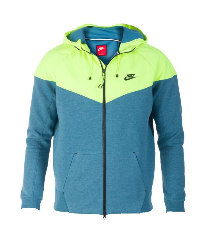 e2da266bf7ba Nike NIKE TECH FLEECE WINDRUNNER (Yellow) - 616757440