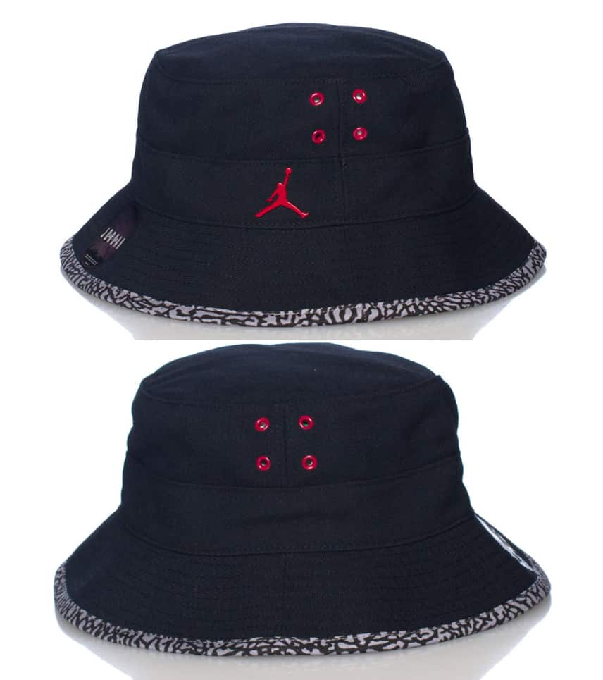 Jordan Jordan Jumpman Bucket Hat (Black) - 617911011  6fc1c5f4657