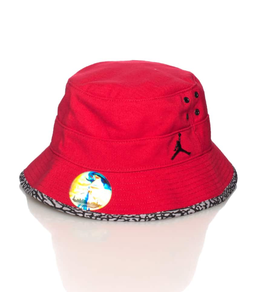 Jordan JORDAN JUMPMAN BUCKET HAT (Red) - 617911695  fa6d5600eacb