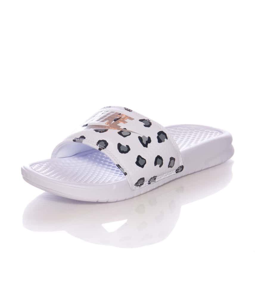a2dab8aaa1e6a Nike BENASSI JDI PRINT SANDAL (White) - 618919102