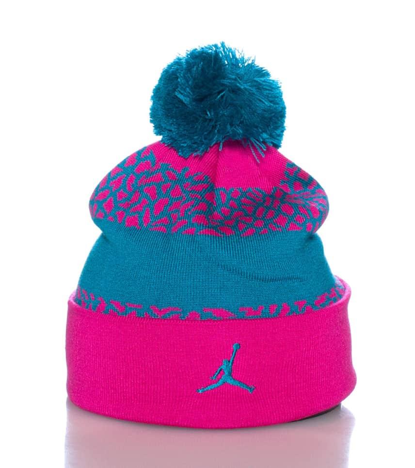 Jordan Jumpman Pom Pom Winter Beanie (Pink) - 619366670  5482ed172ff