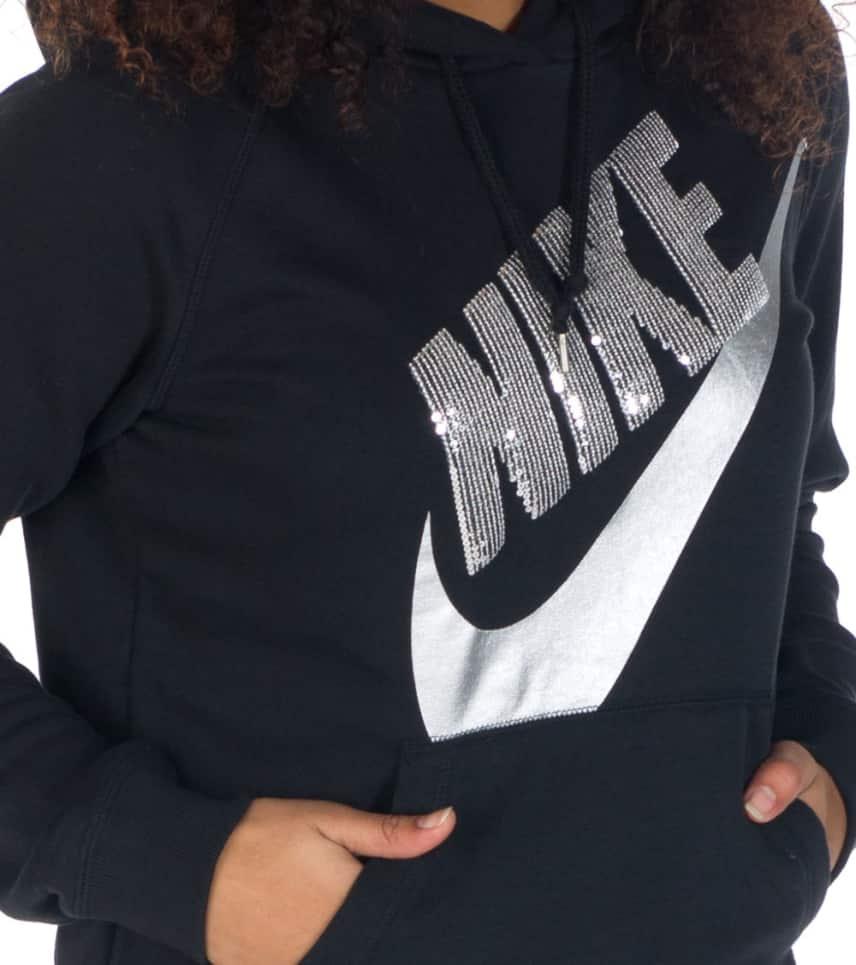 1326f3cc948e Nike SEQUIN RALLY HOODIE (Black) - 622089010