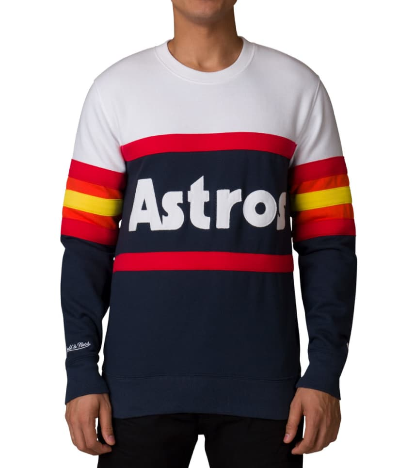 1145a5c1b Mitchell And Ness Houston Astros MLB Sweatshirt (White) - 623T411AH ...