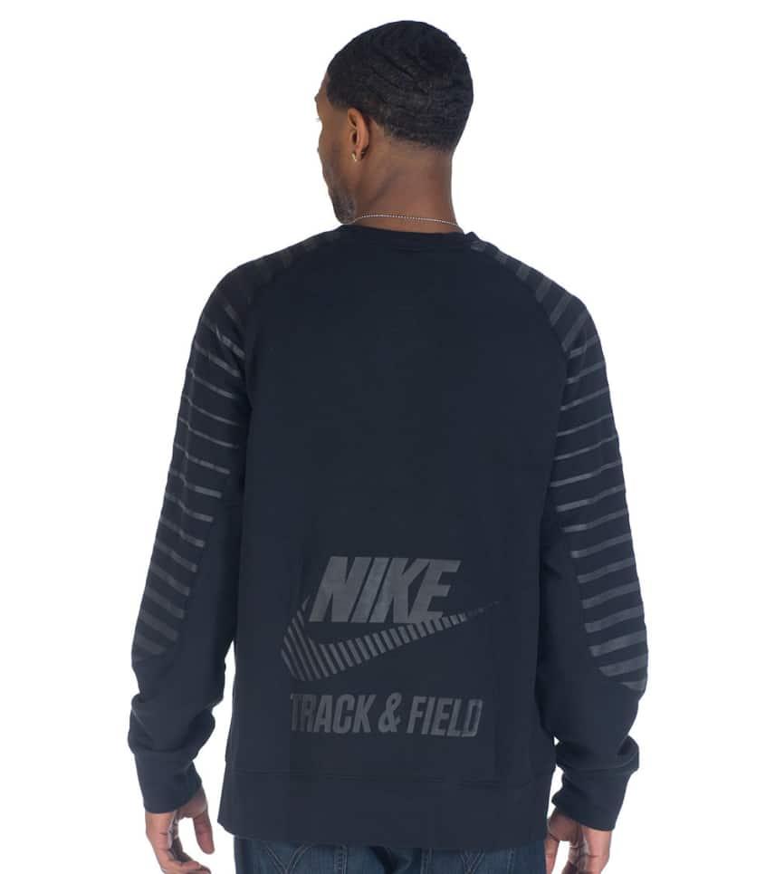 And black Sweatshirt Field Nike Track Crew Ru Sportswear xnvn08ft