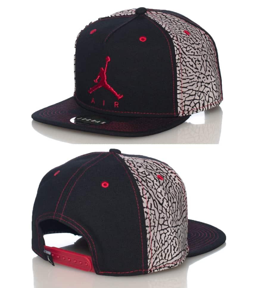 4aa1a1b64 JORDAN 3 SNEAKER SNAPBACK CAP