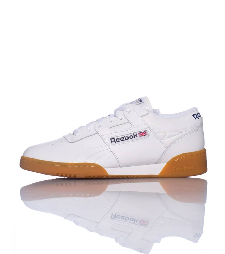 411035d00a7a2 Reebok WORKOUT LOW SNEAKER (White) - 63978