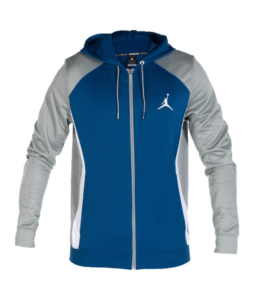 2386a5be62b89d Jordan FLIGHT DRI FIT HOODIE (Blue) - 642241442