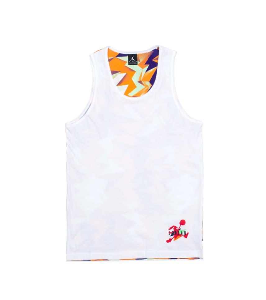 c959a3db9c80b1 Jordan AJ VII WB AOP TANK (White) - 642593100