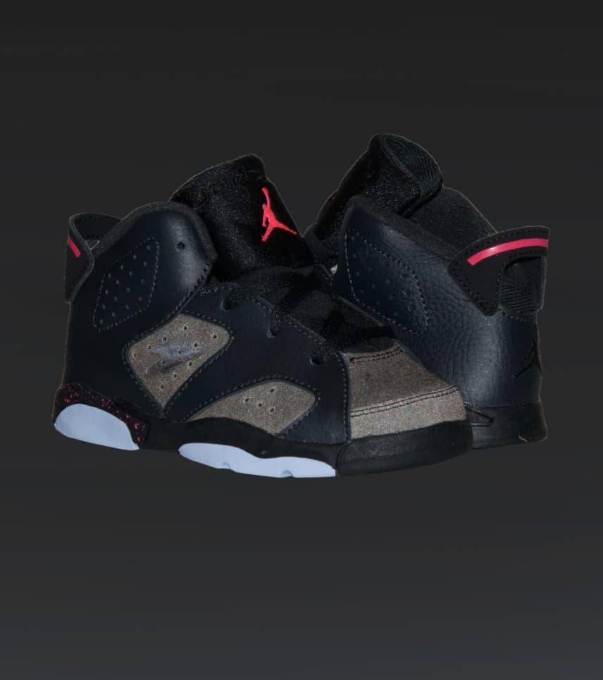 be4927be6e3 Jordan RETRO 6 SNEAKER (Black) - 645127-008