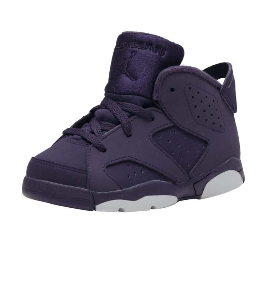 d57e8a0bb1f2 Jordan RETRO 6 SNEAKER (Purple) - 645127-509
