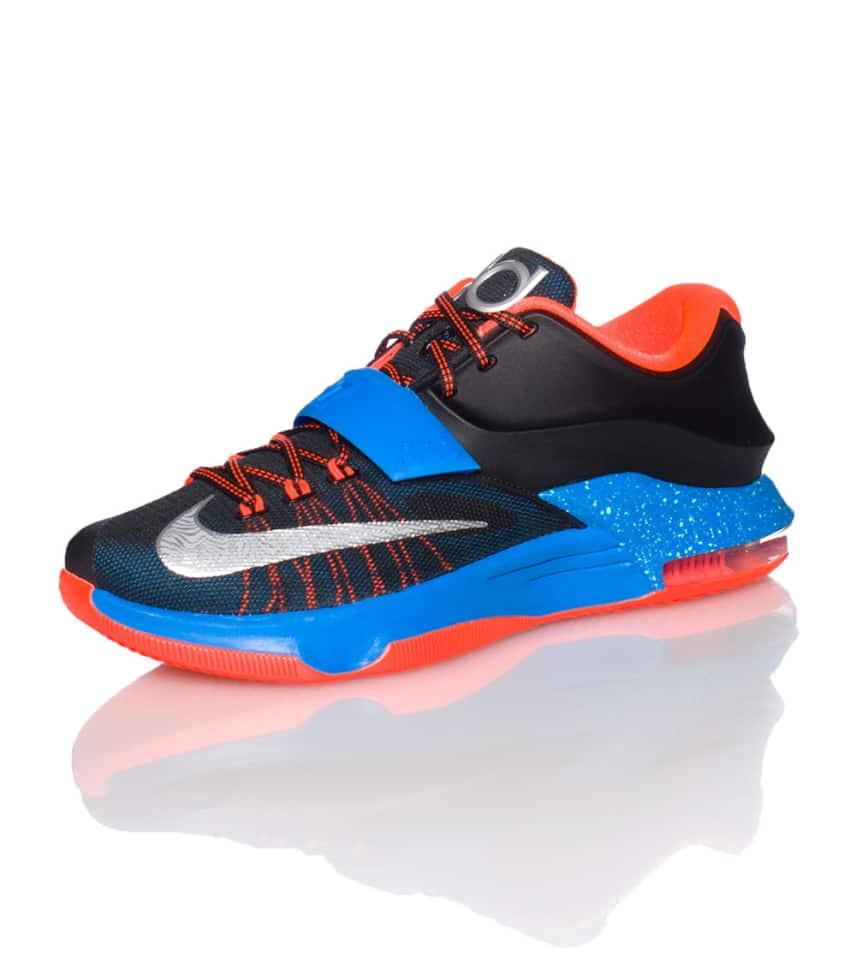 a23b30b4e750 Nike KD VII OKC AWAY SNEAKER (Black) - 653996004