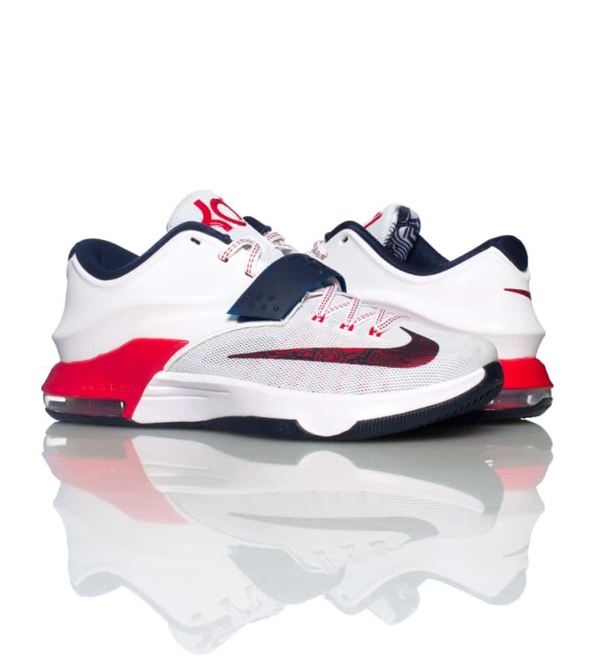 6b5d9bf6dcf6 Nike KD VII USA SNEAKER (White) - 653996146