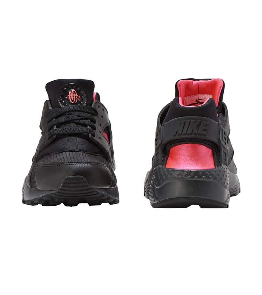 8561655377331 Nike Huarache Run (Black) - 654275-037