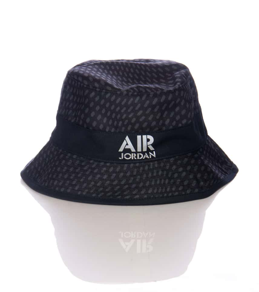 cd55763f Jordan AIR JORDAN STENCIL BUCKET HAT (Black) - 658386011 | Jimmy Jazz